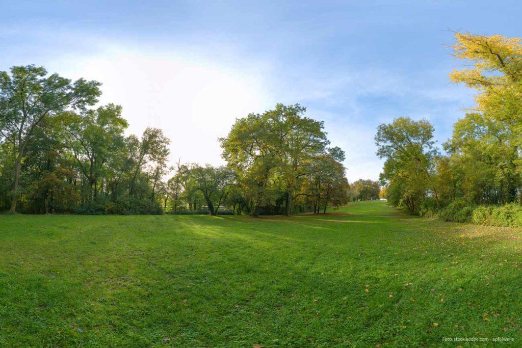 Stadtpark, Bürgerweide, Wäldchen der Stadt Worms