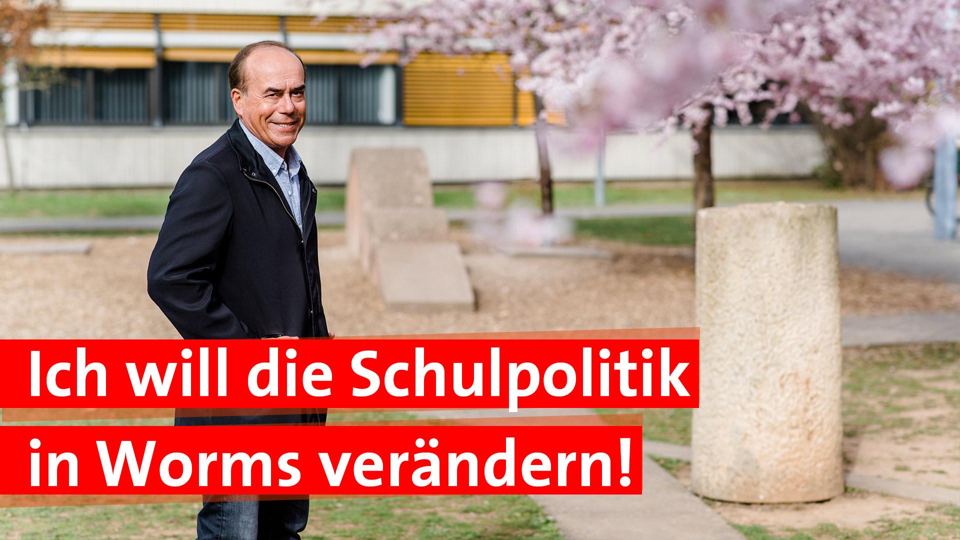 Schulpolitik in Worms verändern Ralf Lottermann