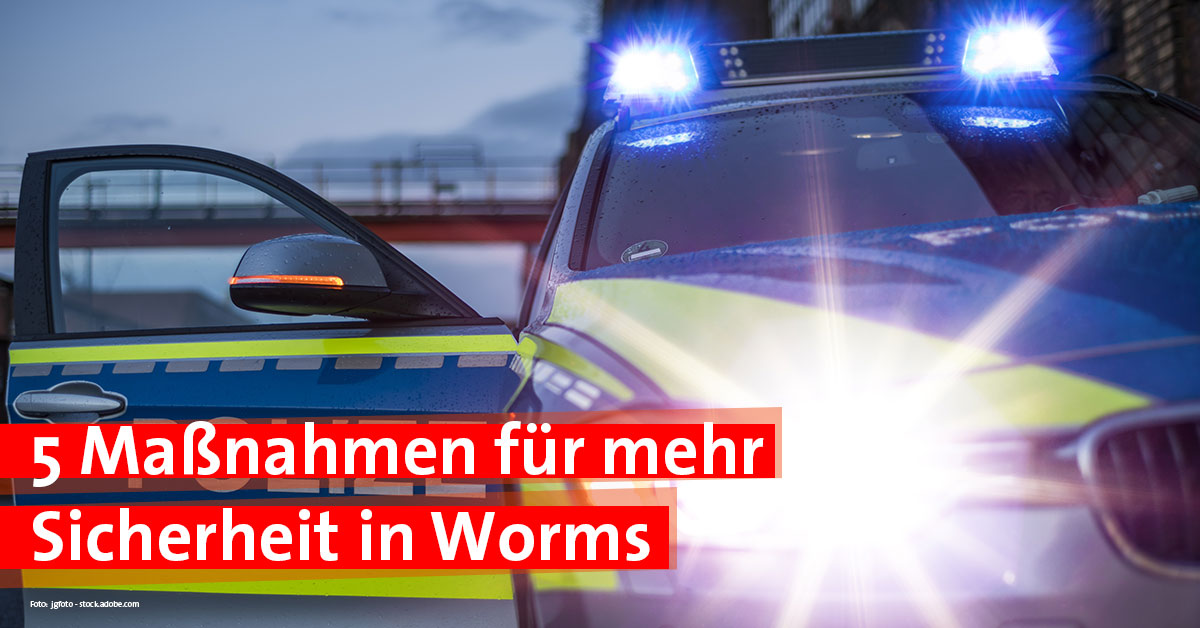 Sicherheit in Worms