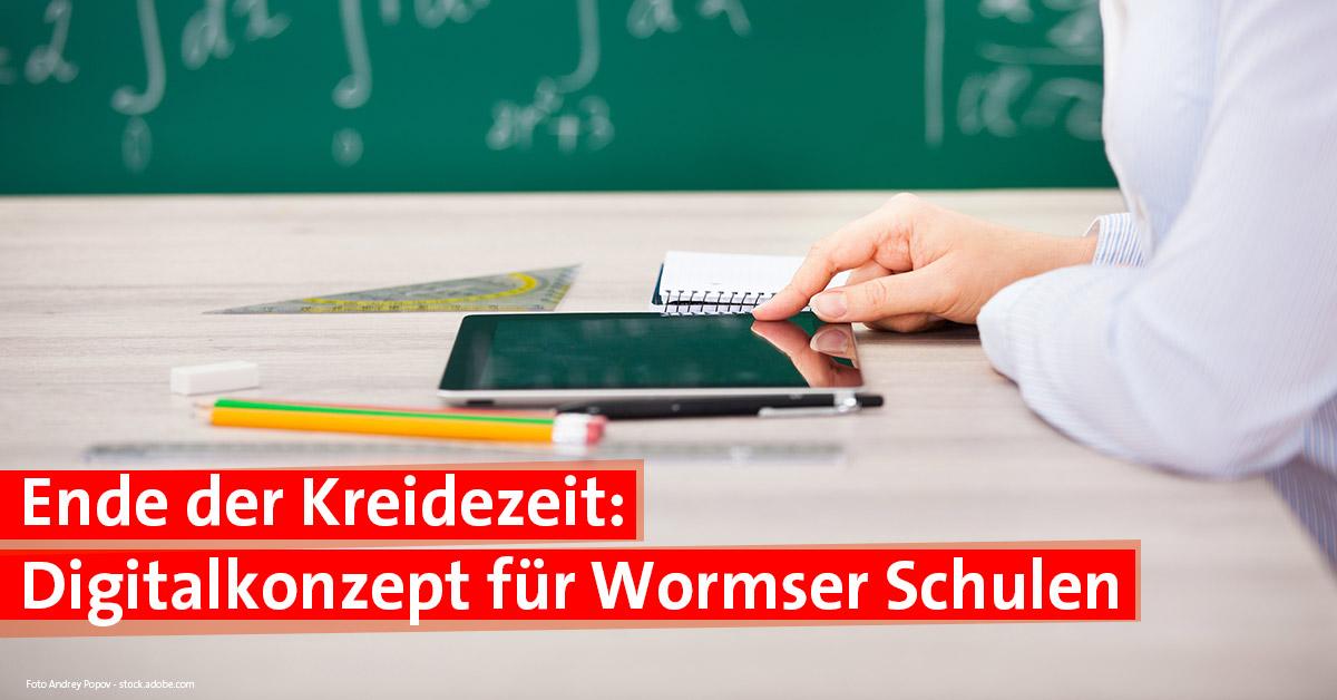 Digitalkonzept für Schulen in Worms