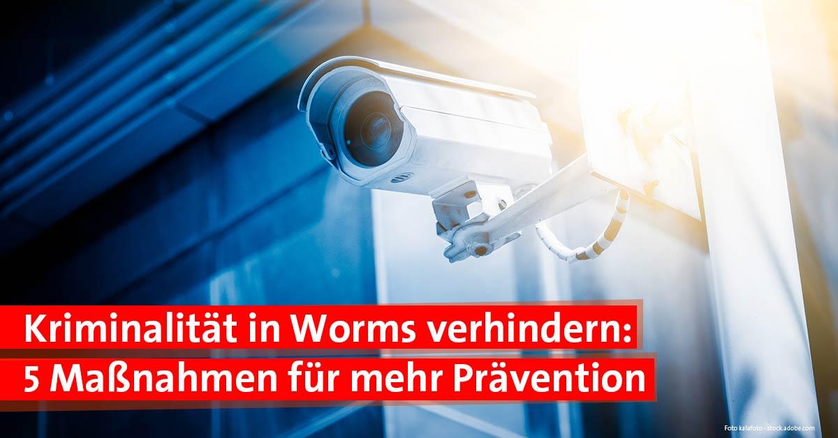 Kriminalität in Worms verhindern durch Prävention