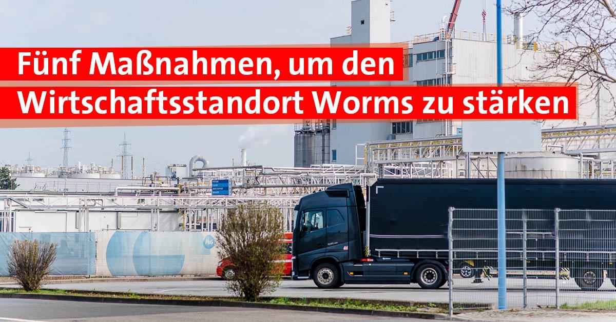 Wirtschaftsstandort Worms